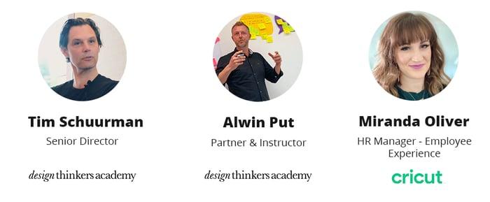 speakers design thinking webinar